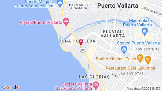 Puerto de Luna Pet Friendly & Family Suites Hotel Map