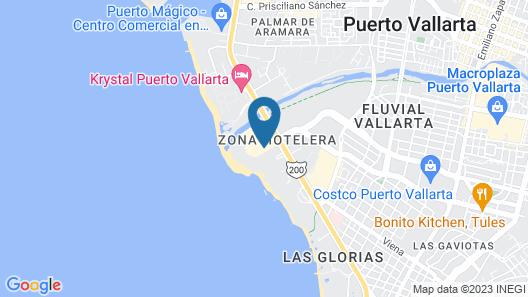Fiesta Inn Puerto Vallarta Isla Map