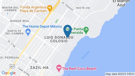 The Reserve at Paradisus Playa del Carmen All Inclusive Map