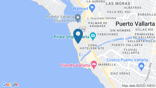 Hilton Puerto Vallarta Resort - All Inclusive Map