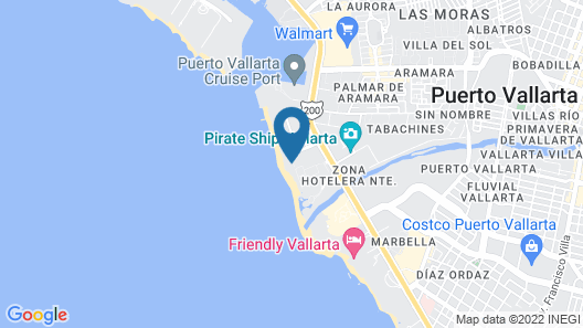 Hilton Puerto Vallarta Resort - All inclusive Map