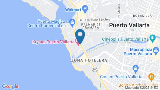 Krystal Vallarta Map