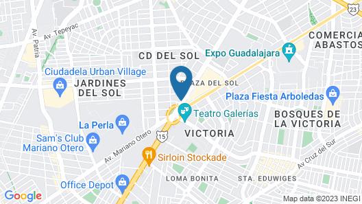 Hotel Portonovo Plaza Expo Map