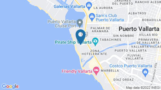 The Hacienda at Hilton Puerto Vallarta Map