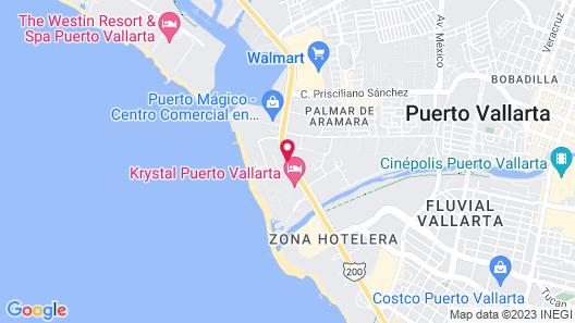 Hacienda Buenaventura Hotel & Mexican Charm - All Inclusive Map