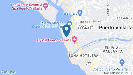 Crown Paradise Golden Puerto Vallarta All Inclusive Map