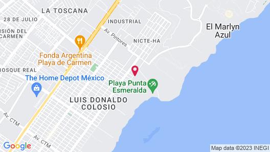 Paradisus La Perla - Adults Only - All Inclusive Map