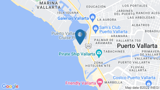 Crown Paradise Club Puerto Vallarta All Inclusive Map