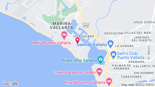 The Westin Resort & Spa Puerto Vallarta Map
