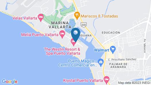 The Westin Resort & Spa Puerto Vallarta Map