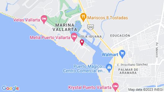 Club Regina Puerto Vallarta Map