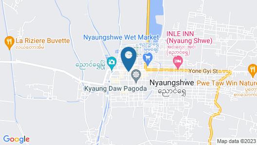 Ostello Bello Nyaung Shwe Map