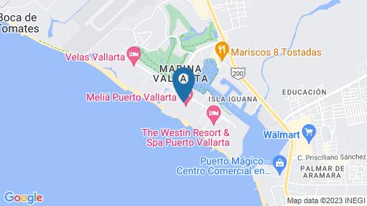 Melia Puerto Vallarta Map