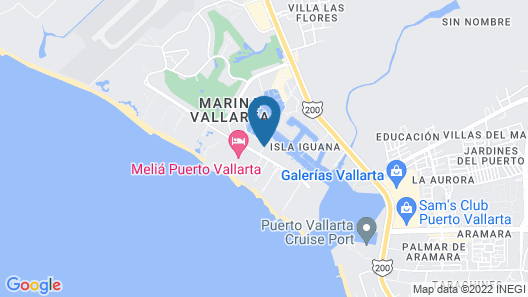 Vamar Vallarta All Inclusive Marina and Beach Resort Map