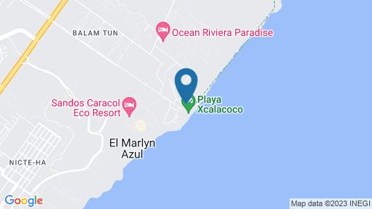 Viceroy Riviera Maya Map