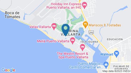 Marriott Puerto Vallarta Resort & Spa Map