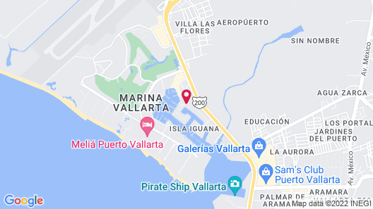 Flamingo Vallarta Hotel & Marina Map