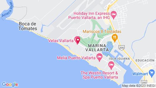 Velas Vallarta Suites Resort All Inclusive Map