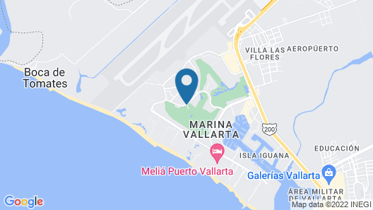Casa Velas – Adults only Map