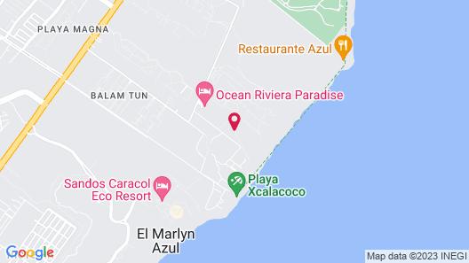 Ocean Riviera Paradise All Inclusive Map