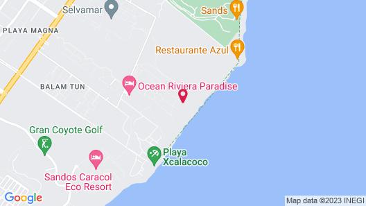 Princess Family Club Riviera Map
