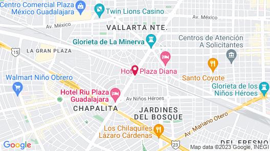 Arborea Hotel Map