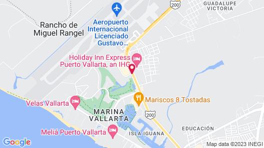 Comfort Inn Puerto Vallarta Map