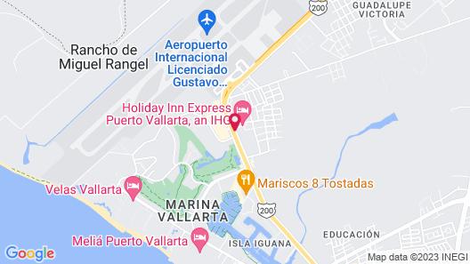 Holiday Inn Express Puerto Vallarta Map