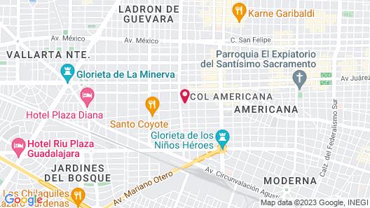 Demetria Bungalows Map