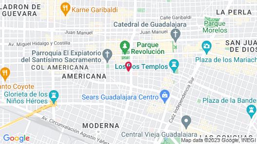 Casa Blanco by Barrio Mexico Map