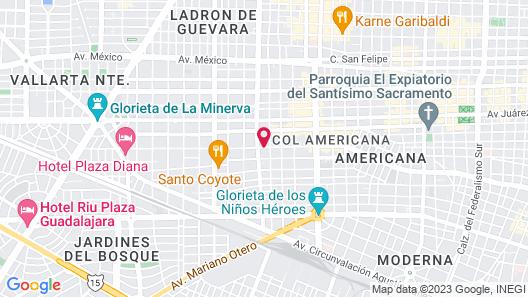 Hotel Demetria Map