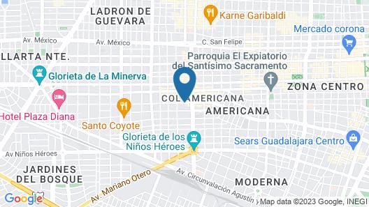 Hotel Laffayette Map