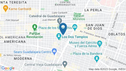 Hotel Real Maestranza Map