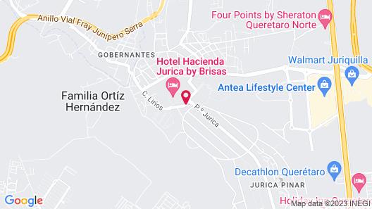 Hacienda Jurica by Brisas Map