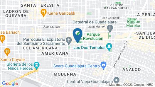 Six Hotel Map