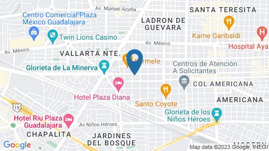 Hotel Velvet Plaza Map