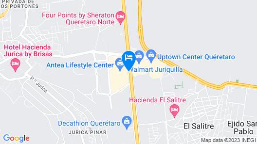 AC Hotel by Marriott Queretaro Antea Map