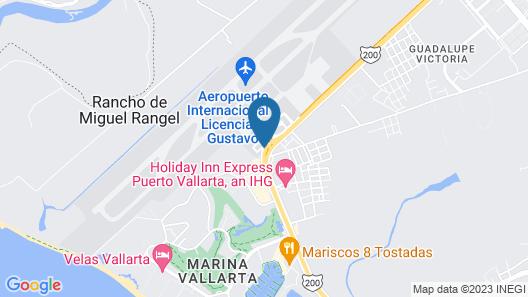 One Puerto Vallarta Aeropuerto Map