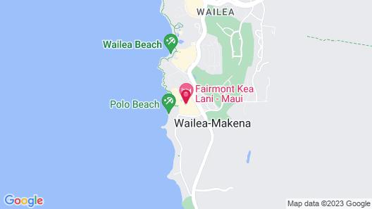 Fairmont Kea Lani Maui Villa Experience Map