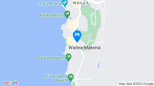 Fairmont Kea Lani Maui Map