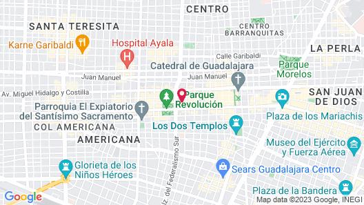 Hotel Casino Plaza Map