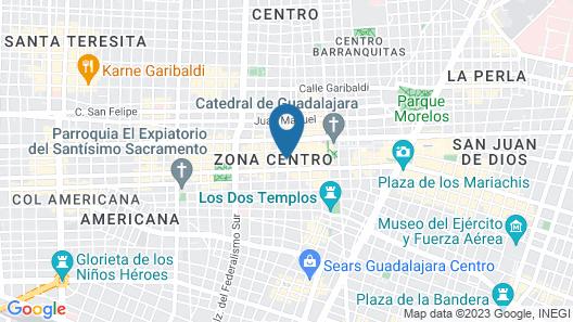 Hotel Dali Ejecutivo Map