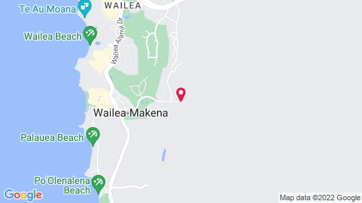 Hotel Wailea, Relais & Chateaux- Adults Only Map