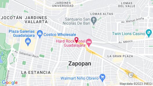 Hotel & Suites Quinta Magna Map