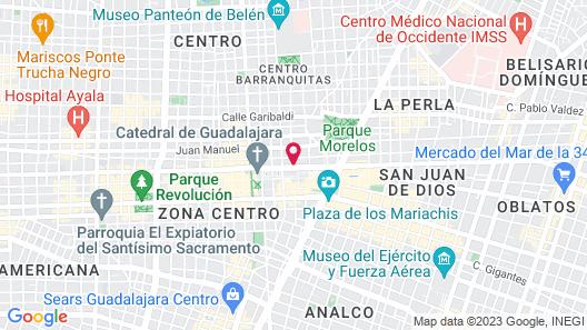 Hotel De Mendoza Map