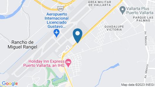 Sunscape Puerto Vallarta Resort & Spa - All Inclusive Map