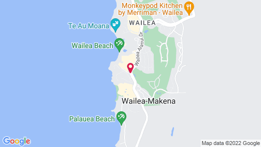 Four Seasons Resort Maui at Wailea Map