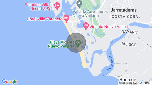 BEST OFFER!!! The Grand Mayan at Vidanta Nuevo Vallarta Map