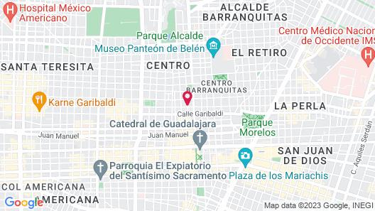 Casa Pedro Loza Map