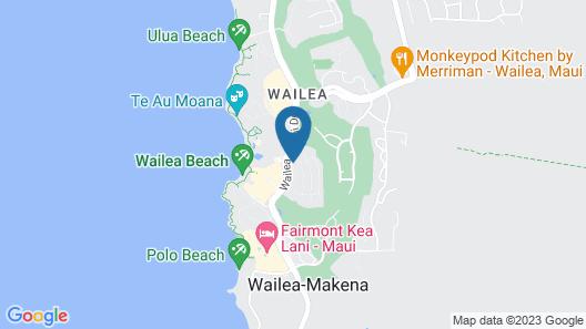 Ho'olei at Grand Wailea Map